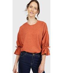 sweater privilege naranjo - calce holgado