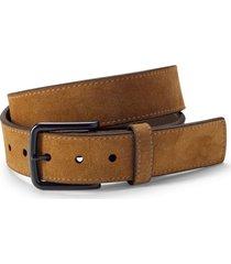 rugged suede belt