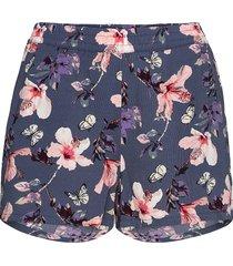 onlnova lux shorts aop wvn 3 shorts flowy shorts/casual shorts blå only