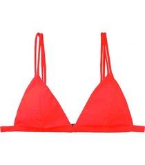 bikini estilo triangulo rojo samia