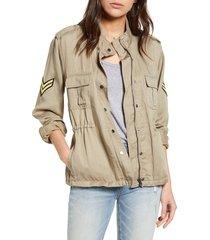 women's rails trey utility jacket, size x-small - green