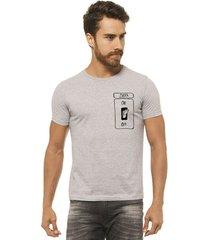 camiseta manga curta joss zueira masculina