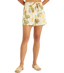 sanctuary endless summer shorts, size medium in soft palm at nordstrom