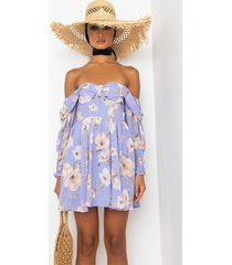 akira ft. your fave off the shoulders mini floral dress