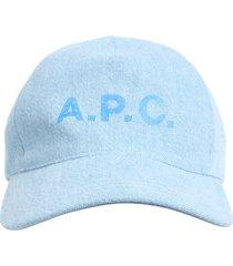 a.p.c. cotton baseball hat