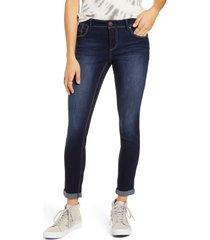 women's 1822 denim re: denim ankle skinny jeans, size 30 - blue