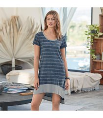 striped surprise dress