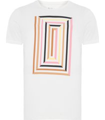 t-shirt masculina colour maze - off white