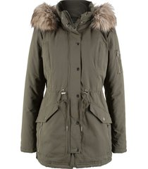 parka caldo imbottito (verde) - bpc bonprix collection