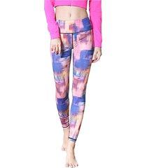 pittura a olio delle donne dipinte yoga leggings