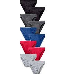 slips per 10 stuks g gregory rood::zwart::grijs::blauw