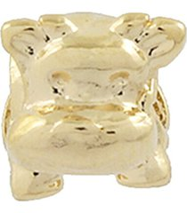 berloque narcizza semijoias hipopótamo bebê ouro