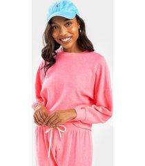 sammie crew neck sweatshirt - pink