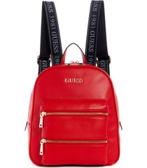 mochila caley rojo guess
