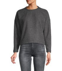 love ady women's crewneck sweatshirt - grey - size l