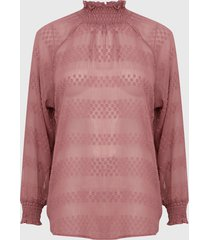 blusa glamorous ml rosa - calce holgado