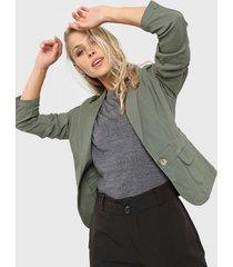 blazer verde  montjuic orión