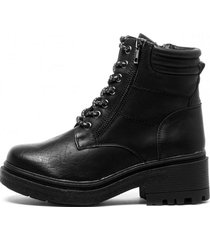 botin loto black chancleta