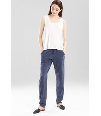 josie tees swing tank pajamas, women's, white, size s natori