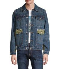 cult of individuality men's rickson denim jacket - gideon - size m