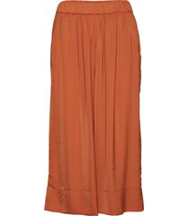 minga cropped trousers vida byxor orange second female