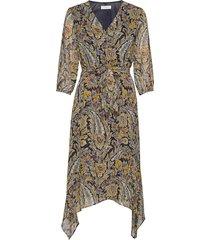 dress woven fabric knälång klänning multi/mönstrad gerry weber