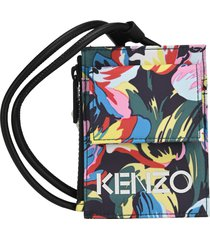 kenzo x vans tulipes card holder