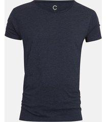 cliff t-shirt - melerad mörkblå