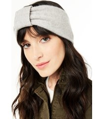 charter club cashmere earwarmer headband, created for macy's