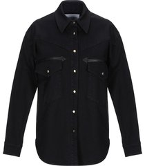 alberta ferretti denim shirts