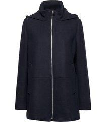 jackets outdoor woven ulljacka jacka blå esprit casual