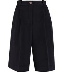 loewe wool bermuda-shorts