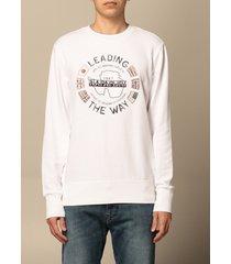 napapijri sweatshirt napapijri crewneck sweatshirt with graphic print