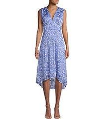 celeste floral empire waist a-line dress