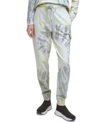 dkny jeans cotton tie-dyed joggers