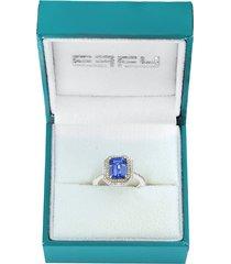 effy women's 14k white gold, 14k yellow gold & diamond solitaire ring - size 7