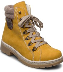 y9430-68 shoes boots ankle boots ankle boot - flat gul rieker