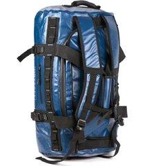 bolso duffel bag 60 l waterproof impermeable - azul - drysafe