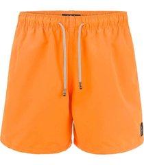 shorts mic fun laranja mecânica laranja