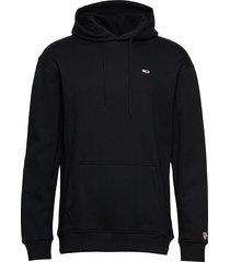 tjm tommy classics h hoodie trui zwart tommy jeans
