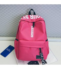 mochilas escolares mochila de viaje oxford simple mujeres hombres escuela