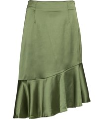 ellie skirt knälång kjol grön by malina