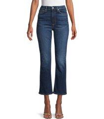 rag & bone women's nina high-rise kick flare jeans - carla - size 32 (12)