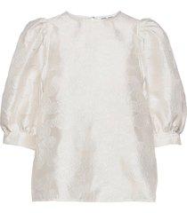 celestina blouse 12939 blouses short-sleeved creme samsøe samsøe