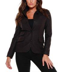 belldini black label utility wool blend jacket