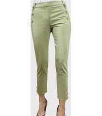 pantalón pescador verde liola
