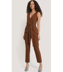 trendyol jumpsuit - brown