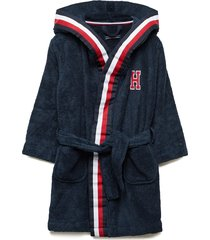 bathrobe ochtendjas badjas blauw tommy hilfiger