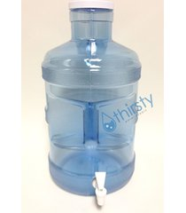 5 gallon water bottle big cap faucet spigot polycarbonate plastic dispenser usa