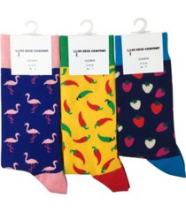 love sock company women's organic cotton seamless toe crew socks